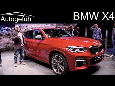 BMW X4 REVIEW reveal @ Geneva Motor Show 2018 - Autogefühl