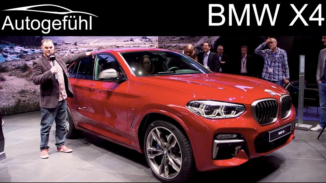 BMW X4 REVIEW reveal @ Geneva Motor Show 2018 - Autogefühl - Dauer: 16 Minuten