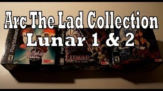 Arc the Lad Collection / Lunar Silver Star Story / Lunar Eternal Blue Unboxing & Review (PS1)
