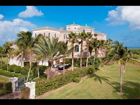 Intricate Oceanfront Estate in Stuart, Florida