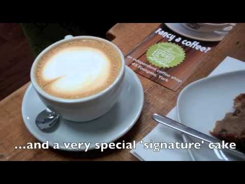 Finding Fossgate for tea and coffee in York