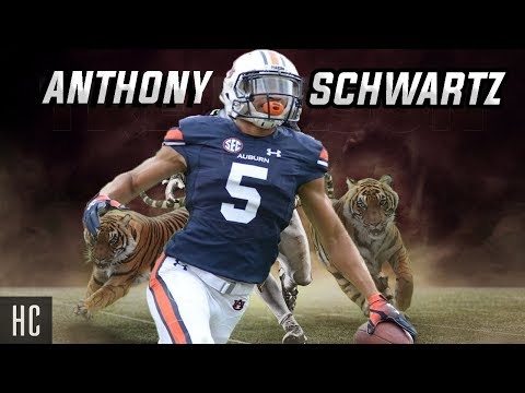 One Of The Fastest Players In CFB 🗣 Anthony Schwartz Highlights || Auburn Tigers WR ᴴᴰ