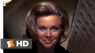 Goldfinger (6/9) Movie CLIP - My Name is Pussy Galore (1964) HD