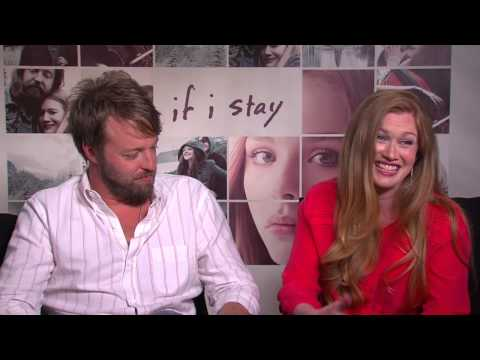If I Stay: Mireille Enos & Joshua Leonard  Movie
