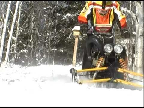 how to build a snow machine