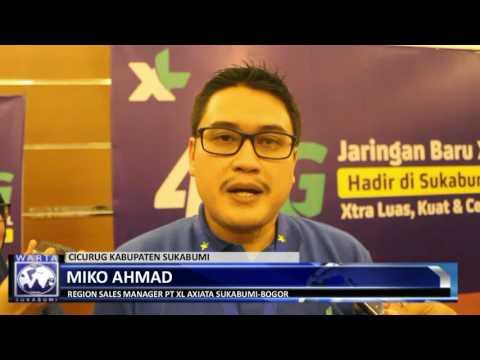 Launching Jaringan 4.5 G XL AXIATA untuk Wilayah Sukabumi