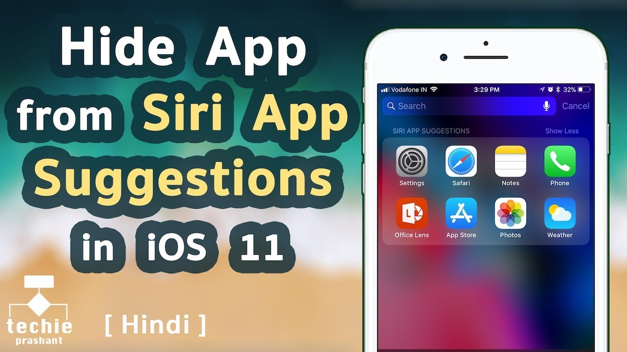 Remove apps from siri suggestions ios 10
