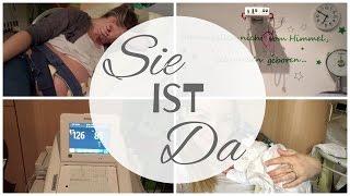 Sie ist da | Unsere Tochter wurde geboren!