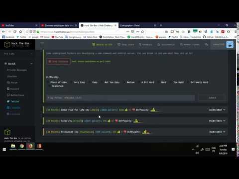[hackthebox][web challenge] Cartographer