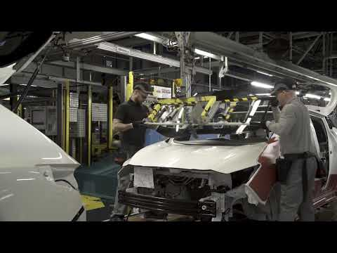 2018 NEW Nissan Leaf - European Production Process