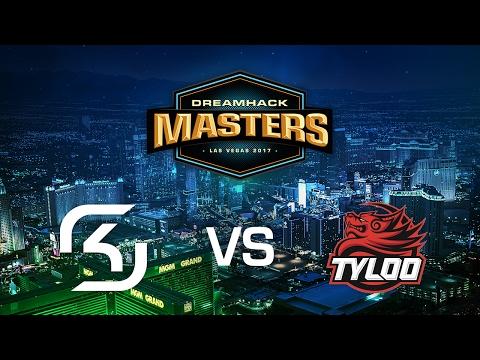 SK-Gaming vs. Tyloo - Cobblestone - Group C - DreamHack Masters Las Vegas 2017