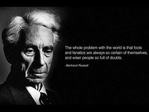 Bertrand Russell speech in Manchester
