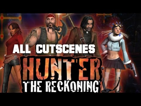Hunter: The Reckoning All Cutscenes (Game Movie)(HD)