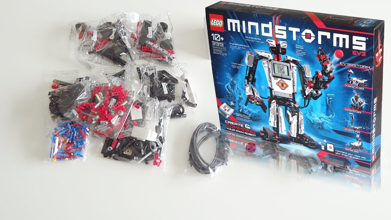 Lego Mindstorms Ev3 31313 Unboxing Youtube