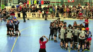 GGRD - Brooklyn Bombshells vs Queens of Pain - July 18, 2015 - Abe Stark Arena