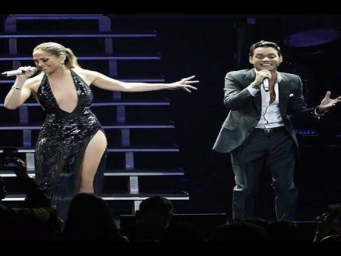 Jennifer López y Marc Anthony, juntos de nuevo en el escenario