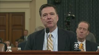 FBI Director Comey Testifies On Election Influence, Wiretap Claim