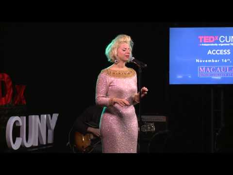 Chanteuse Superstar | Lady Rizo | TEDxCUNY