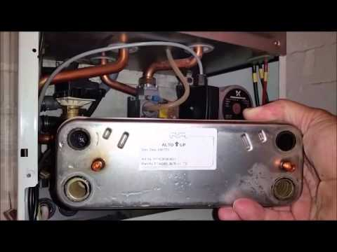 COMBI BOILER heat exchanger - YouTube