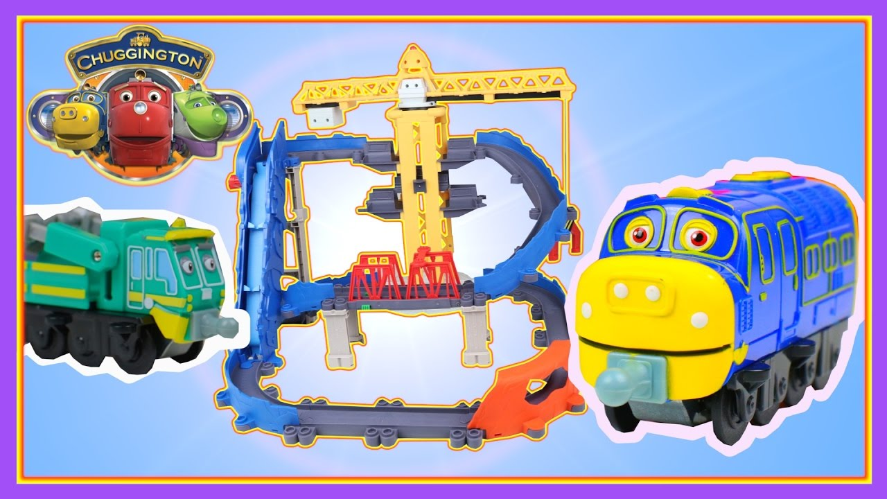 Trains for Children Video Chuggington Trains Playset Stack Track ...