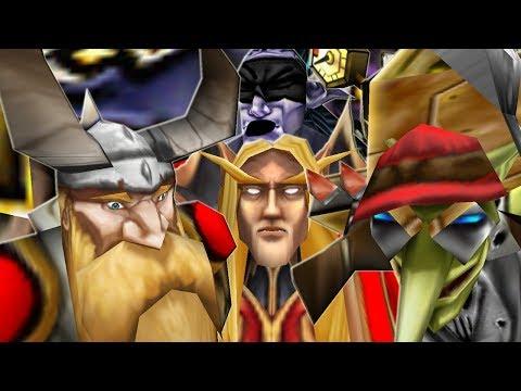 Warcraft 3 - Human Hero Destruction