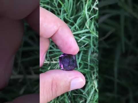 Sweet Color Faceted Amethyst available for sale