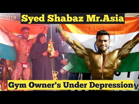 #SyedShabazBodybuilder Bangalore's gym owners under loss during lockdown