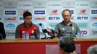 Standard - Ajax : Conférence de presse.