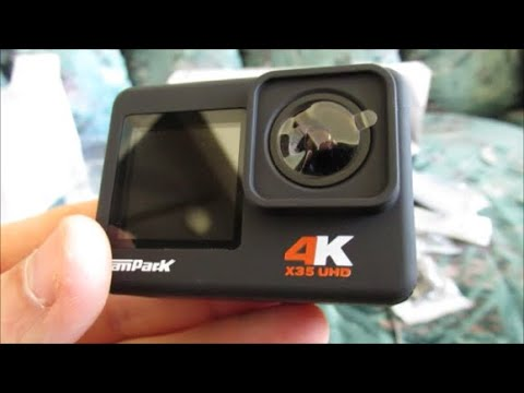 Campark X35 Action Camera - Unboxing and Video Test