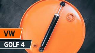 Jak vyměnit Klinovy zebrovany remen на VW GOLF IV (1J1) - online zdarma video