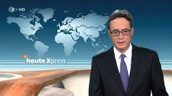 ZDF heute Xpress Panne - Moderator abgewürgt