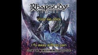 Скачать Rhapsody Of Fire Volar Sin Dolor Letra English Sub