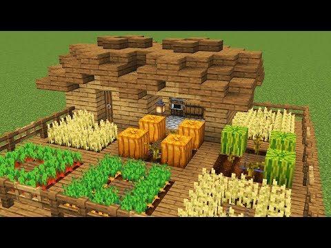 Как создать ферму в майнкрафте