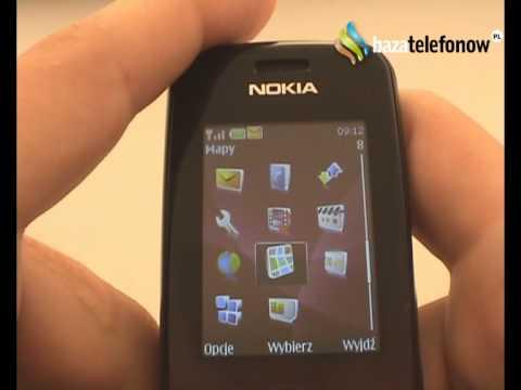 Prezentacja telefonu Nokia 3600 Slide