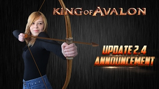 KoA - Update 2.4 by Lady of Avalon(King of Avalon – Dragon Warfare Download now! http://bit.ly/Download_KoA With subtitles. Please click