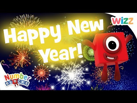 Numberblocks - Learn to Count | Happy New Year | Wizz | Cartoons for Kids