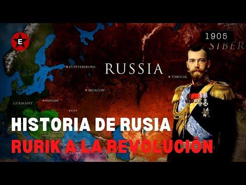 Historia de Rusia (PARTES 1-5) - Rurik A La Revolución