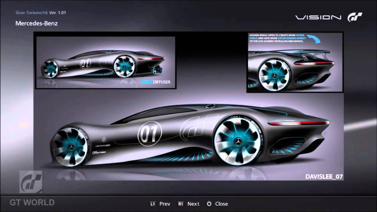 GT6 - Mercedes Benz AMG Vision Gran Turismo Sketches ...
