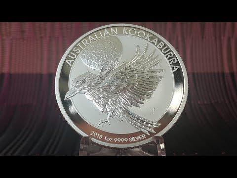 Kookaburra 1 oz Silver Coin  2018