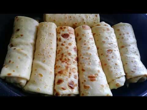 recette-en-kabyle:crêpes-farcies-aux-poulet,-champignons-et-sauce-béchamel-à-ne-pas-rater