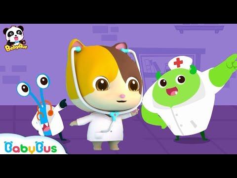 🎃 Scary Halloween Party   Halloween Cartoon   Bad Germ Family   Halloween Songs   BabyBus