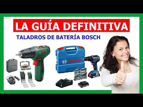 ✅ TALADROS A BATERÍA BOSCH 2021 ✅ La GUÍA INFALIBLE para COMPRAR un Taladro de Batería Bosch