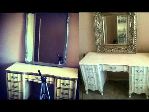 D.I.Y. ANTIQUE FURNITURE! QUICK&CHEAP - D.I.Y. ANTIQUE FURNITURE! QUICK&CHEAP - YouTube