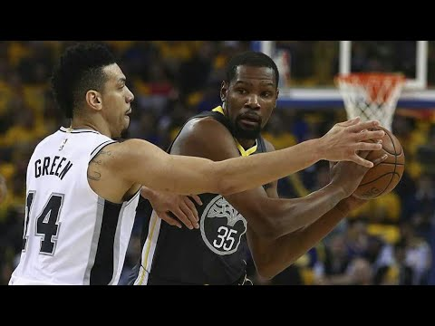 Golden State Warriors vs San Antonio Spurs / Game 2 / 2018 NBA Playoff