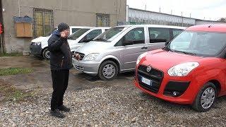 Цены на Mercedes Benz Vito, VW Transporter T5, Fiat Doblo в Польше - Dobrokar