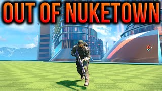 BO3 - Fully Out Of The Map Nuketown Mothership Glitch