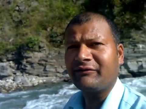 The River naming Budhi Ghat in Achham Nepal. Travel Video