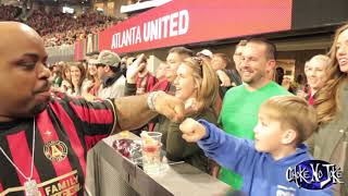 Goodie Mob Atlanta United Golden Spike Ceremony 2019