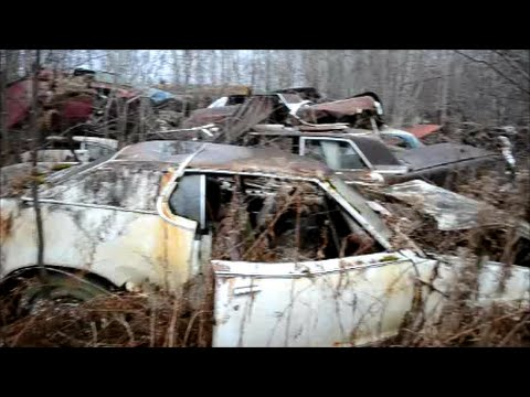 FORD & MERCURY JUNKERS & MORE IN CANADIAN SALVAGE YARD