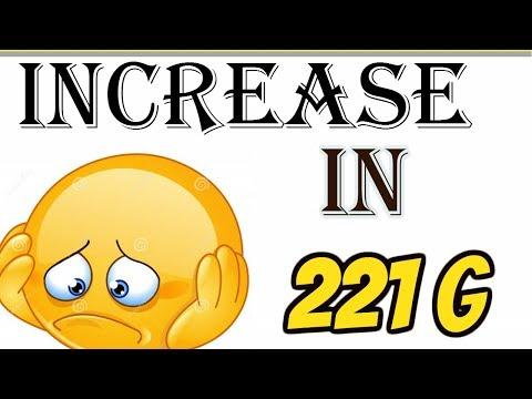Increase in 221G during Visa stamping- Administrative